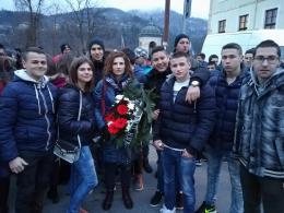 С поднасяне на венец изразихме своята почит към паметта на Левски - Изображение 1