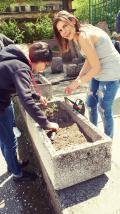 Цветна феерия създадоха 12 клас - Гимназия по туризъм и строителство - Смолян