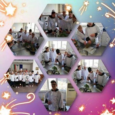 Началото в кулинарните техники бе поставено вече в 9 клас - Изображение 1