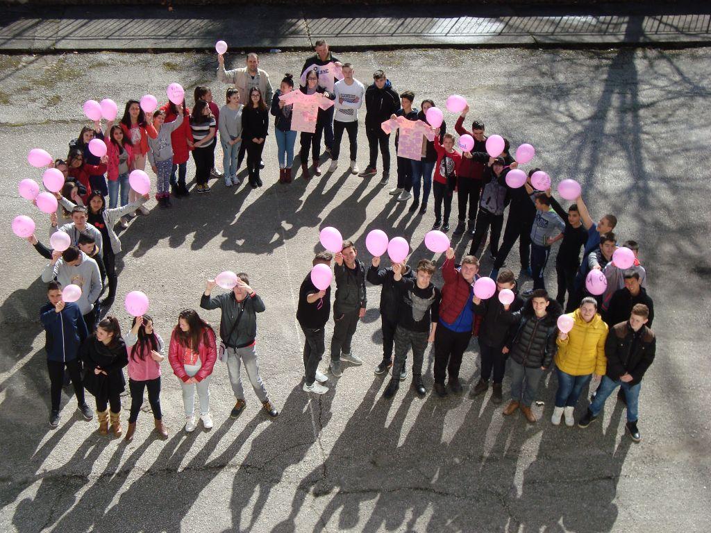 Отбелязахме Деня на розовата фланелка 2019' - голяма снимка