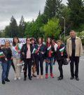 С шествие отбелязахме 24 май 2019 г. - Гимназия по туризъм и строителство - Смолян