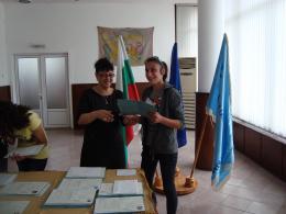 Дипломиране 2015 - 07 - Гимназия по туризъм и строителство - Смолян