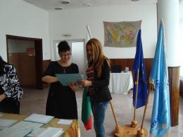 Дипломиране 2015 - 08 - Гимназия по туризъм и строителство - Смолян