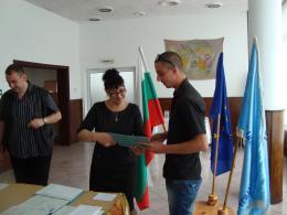 Дипломиране 2015 - 09 - Гимназия по туризъм и строителство - Смолян