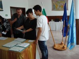 Дипломиране 2015 - Гимназия по туризъм и строителство - Смолян