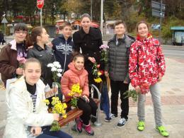 15 ноември - Световен ден за възпоменание на жертвите от ПТП - Гимназия по туризъм и строителство - Смолян