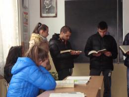 Седмица на четенето - Гимназия по туризъм и строителство - Смолян